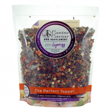 Canine Caviar's Synergy Dehydrated Vegetable Mix