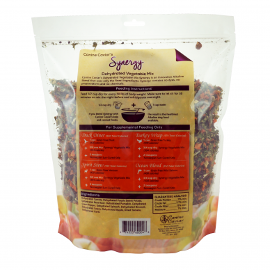 Canine Caviar's Synergy Dehydrated Vegetable Mix 2